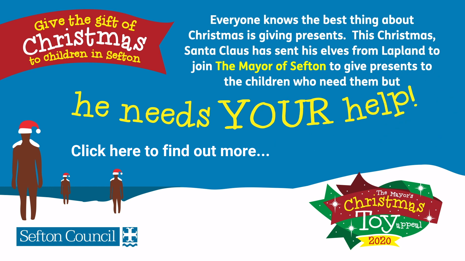 Sefton Christmas Toy Appeal 2020!